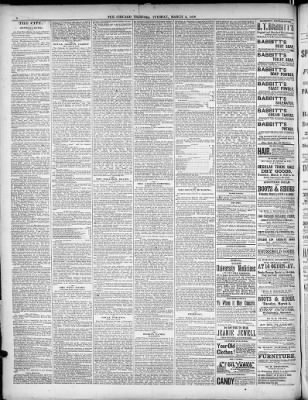 Chicago Tribune from Chicago, Illinois on March 5, 1878 · 8