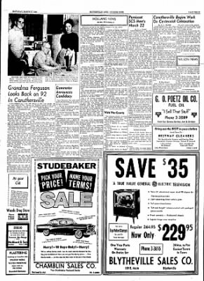 The Courier News from Blytheville, Arkansas on March 17, 1956 · Page 2