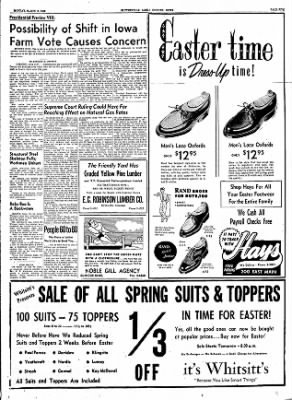 The Courier News from Blytheville, Arkansas on March 19, 1956 · Page 3