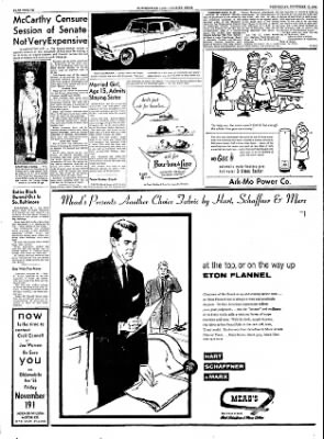 The Courier News from Blytheville, Arkansas on November 17, 1954 · Page 12