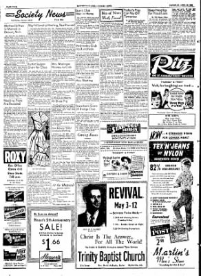 The Courier News from Blytheville, Arkansas on April 30, 1953 · Page 4