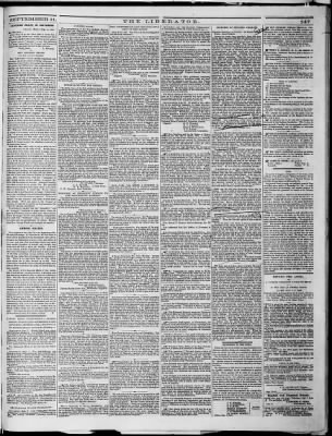 The Liberator from Boston, Massachusetts on September 11, 1863 · Page 3
