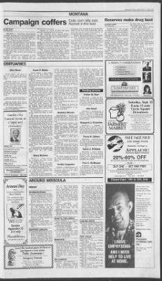 The Missoulian from Missoula, Montana on September 11, 1992 · 15