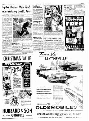 The Courier News from Blytheville, Arkansas on November 29, 1955 · Page 9