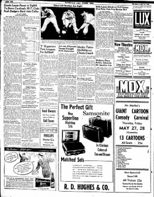 The Courier News from Blytheville, Arkansas on May 27, 1948 · Page 6