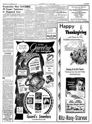 The Courier News from Blytheville, Arkansas on November 24, 1954 · Page 3