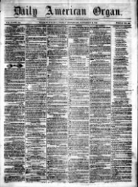 Sample Daily American Organ front page