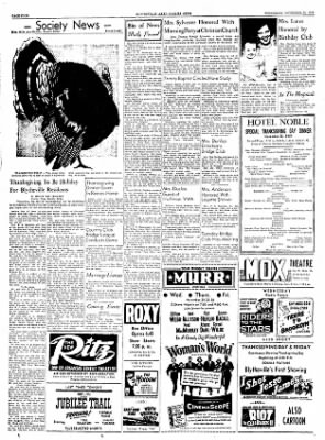 The Courier News from Blytheville, Arkansas on November 24, 1954 · Page 4