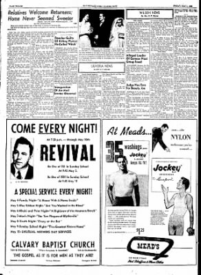The Courier News from Blytheville, Arkansas on May 1, 1953 · Page 12
