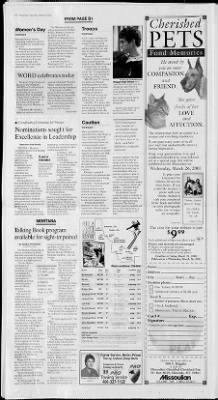 The Missoulian from Missoula, Montana on March 8, 2003 · 15
