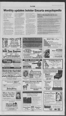 The Missoulian from Missoula, Montana on October 30, 1995 · 11