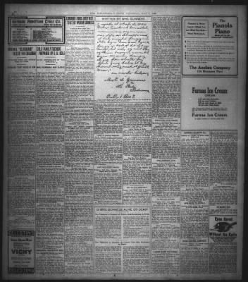 The Indianapolis News from Indianapolis, Indiana on May 9, 1908 · Page 4