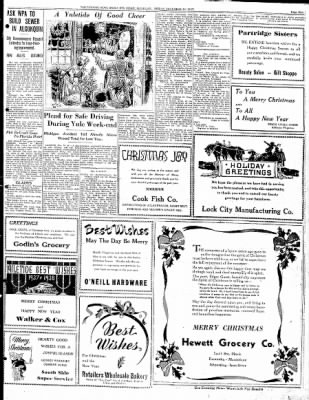 The evening news from sault sainte marie michigan on december 24 the evening news from sault sainte marie michigan on december 24 1937 page 9 m4hsunfo