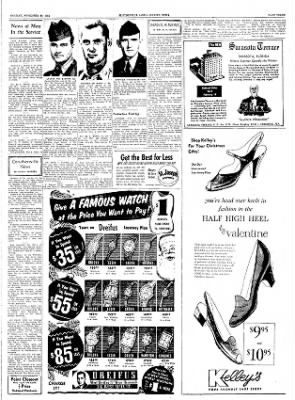 The Courier News from Blytheville, Arkansas on November 29, 1954 · Page 3