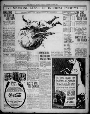 Pensacola News Journal from Pensacola, Florida on June 16, 1911 · 2