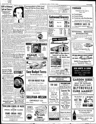 The Courier News from Blytheville, Arkansas on May 31, 1948 · Page 7