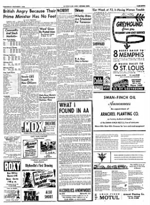 The Courier News from Blytheville, Arkansas on December 1, 1954 · Page 7