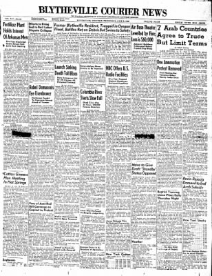The Courier News from Blytheville, Arkansas on June 2, 1948 · Page 1