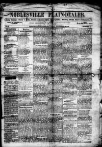 Sample Noblesville Plain-Dealer front page