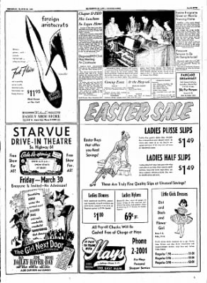 The Courier News from Blytheville, Arkansas on March 29, 1956 · Page 5