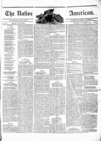 Sample The Native American front page