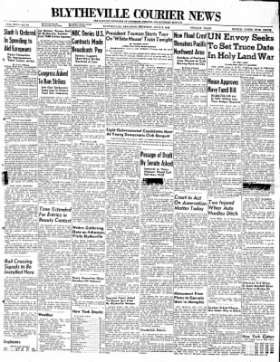 The Courier News from Blytheville, Arkansas on June 3, 1948 · Page 1