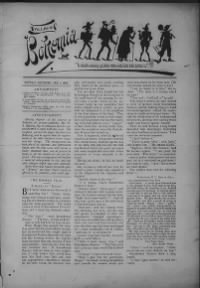 Sample Bohemia front page