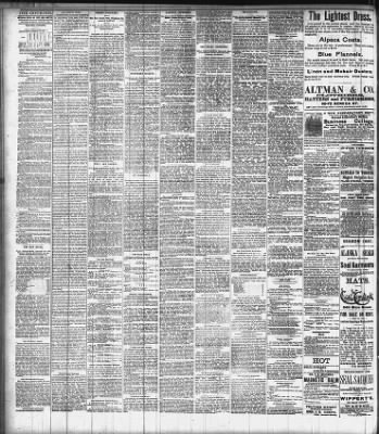 Buffalo Courier From Buffalo New York On August 7 1887 4