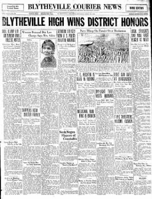 The Courier News from Blytheville, Arkansas on April 18, 1931 · Page 1