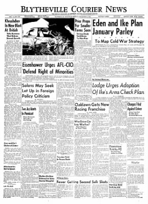 The Courier News from Blytheville, Arkansas on December 5, 1955 · Page 1