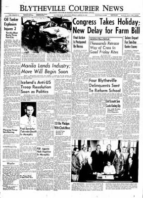 The Courier News from Blytheville, Arkansas on March 30, 1956 · Page 1