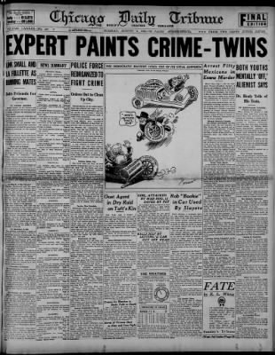 Chicago Tribune from Chicago, Illinois on August 5, 1924 · 1