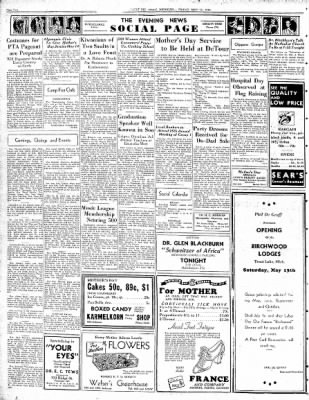 The evening news from sault sainte marie michigan on may 12 1939 the evening news from sault sainte marie michigan on may 12 1939 page 2 m4hsunfo