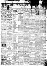 Sample The Alabama Whig front page