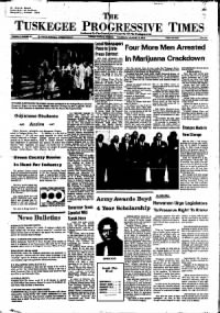 Sample The Tuskegee Progressive Times front page