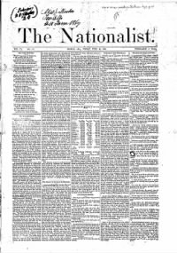 Sample The Nationalist front page