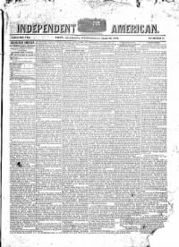 Sample Independent American front page