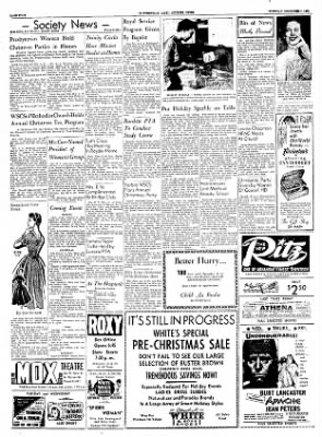 The Courier News from Blytheville, Arkansas on December 7, 1954 · Page 4