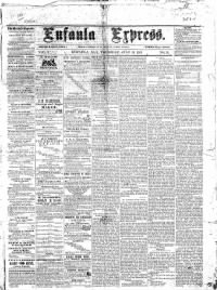 Sample Eufaula Express front page