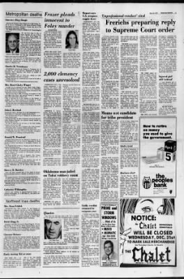 The Courier from Waterloo, Iowa on December 30, 1975 · 5