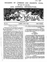 Sample The Book World front page