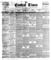 Sample The Central Times front page