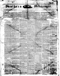 Sample Southern Messenger front page