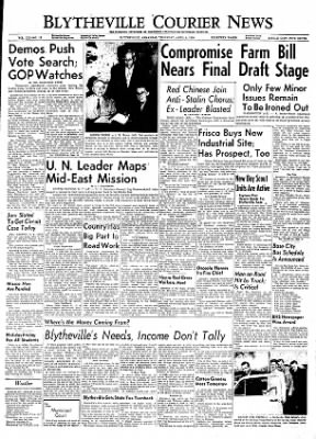 The Courier News from Blytheville, Arkansas on April 5, 1956 · Page 1