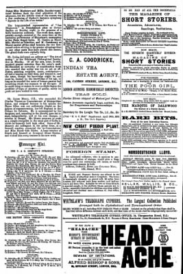 London Mercury from London, Greater London, England on November 14, 1891 · Page 14