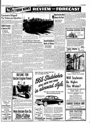 The Courier News from Blytheville, Arkansas on December 10, 1954 · Page 9