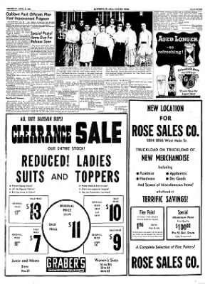 The Courier News from Blytheville, Arkansas on April 5, 1956 · Page 7