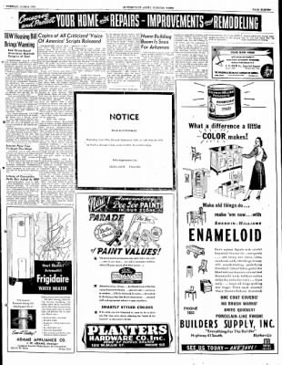 The Courier News from Blytheville, Arkansas on June 8, 1948 · Page 11