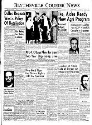 The Courier News from Blytheville, Arkansas on December 9, 1955 · Page 1