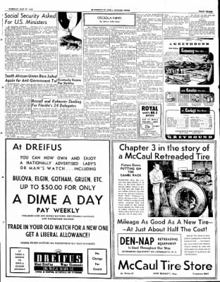 The Courier News from Blytheville, Arkansas on May 27, 1952 · Page 3